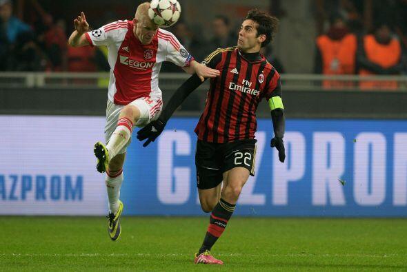 Milan no podía perder su duelo ante el Ajax, pues ese resultado lo manda...