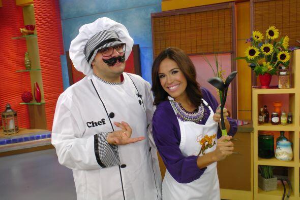 Y para hacer más divertida la hora de cocinar, el Chef Tutti hizo su tri...