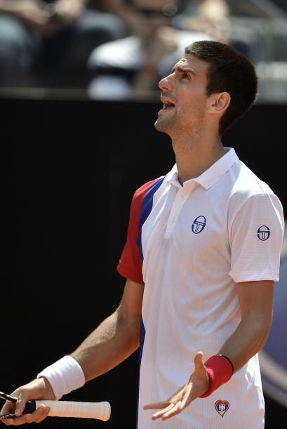 El 22 de mayo Novak Djokovic cumple 22 años y esperaba retener el título...
