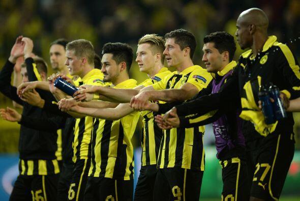 Con este resultado de 4-1, el Dortmund espera poder sumar otro resultado...