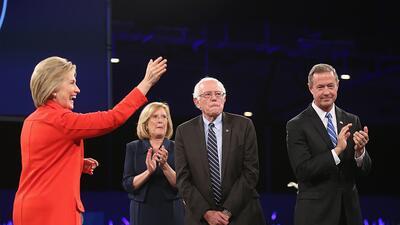 Clinton y Sanders se disputaron el apoyo durante cita clave en Iowa iowa...
