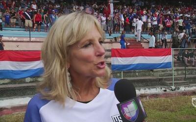 Jill Biden: 'Es muy bueno que Cuba se enfrente a EE.UU. después de 70 años'