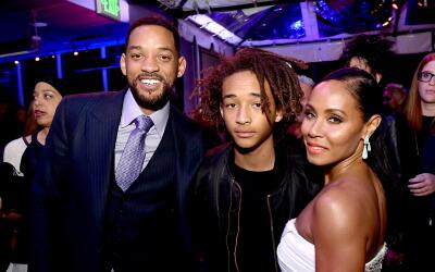 Will, Jada y Jaden Smith