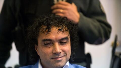 """Henry López Londoño, """"Mi Sangre"""", durante el juicio"""