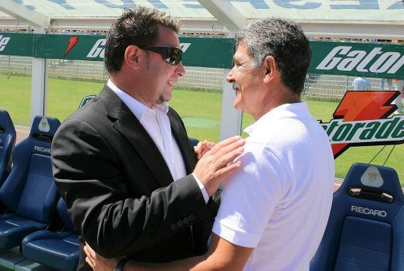 Antonio y Ricardo se han visto las caras como entrenadores ocho veces de...