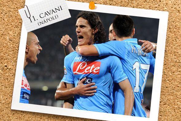 Y por último, pero no menos importante, el uruguayo Edinson Cavani.