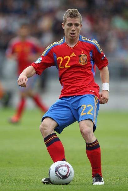 Disputó el Europeo Sub 21 con el equipo español y fue fund...