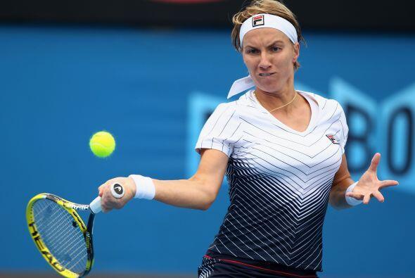 La rusa Svetlana Kuznetsova hizo valer su condición de preclasificada 23...
