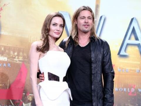 Se rumorea que Angelina Jolie y Brad Pitt tendrán una boda tem&aa...