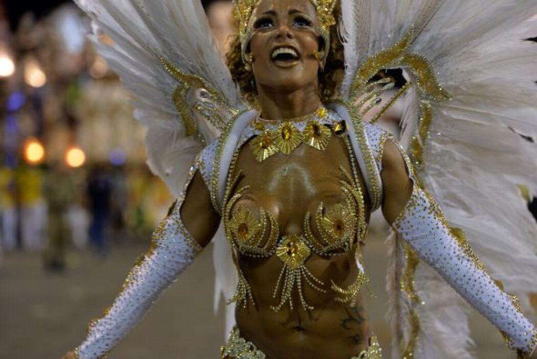 Este domingo desfilaron las escuelas de samba del Grupo Especial del Car...