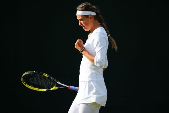 Otra sembrada avanzó, la cuarta favorita, la bielorrusa Victoria Azarenka.