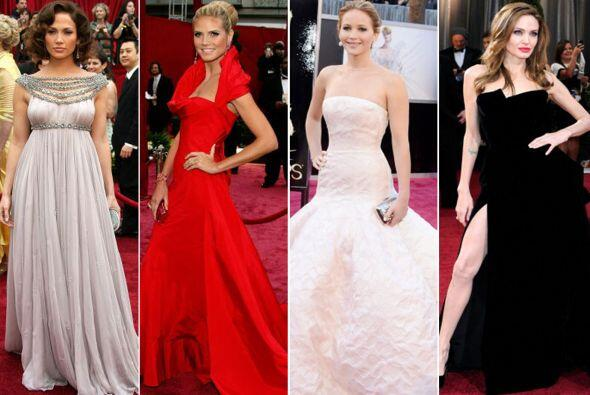 ¡Ellas son las 'glamourosas' chicas que han portado los mejores 'looks'...