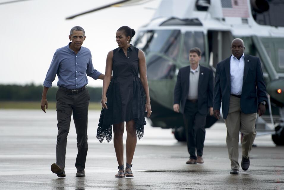 Michelle Obama y su optimismo hecho vestido   GettyImages-485033628.jpg