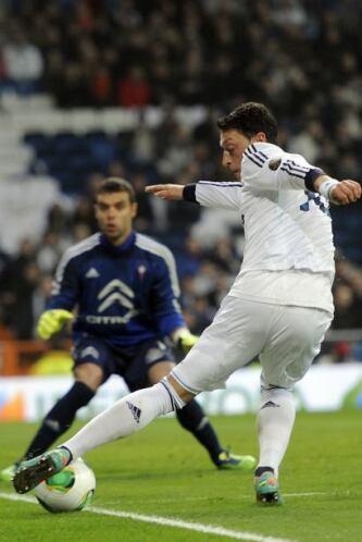 Cuando más sufría el Madrid apareció de nuevo la figura de Ronaldo.