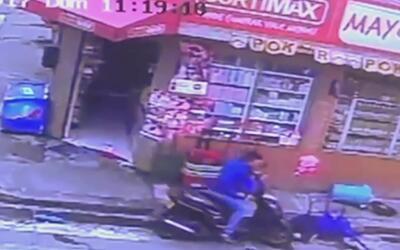 A sangre fría, un ladrón disparó a quemarropa al dueño de un comercio en...