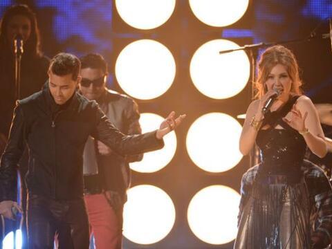 ¡Pura bachata! Así cantaron a dueto Thalía y Prince...