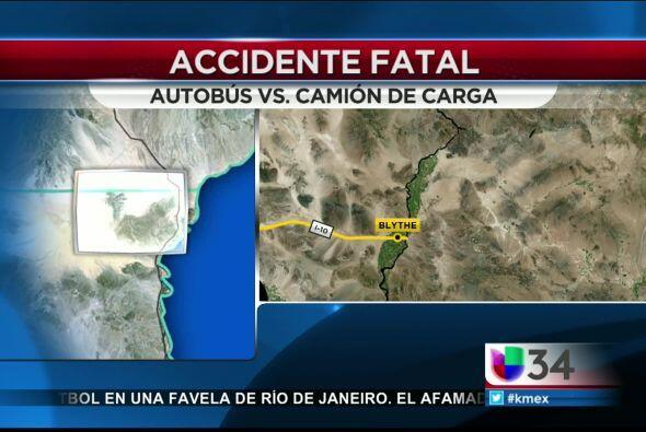Autoridades informaron que los heridos graves fueron trasladados por hel...