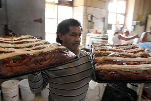 Los primeros días de enero inunda todas las panaderías de México.