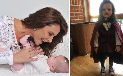 Lorena Rojas y su hija