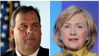 Clinton y Christie, favoritos de la prensa.