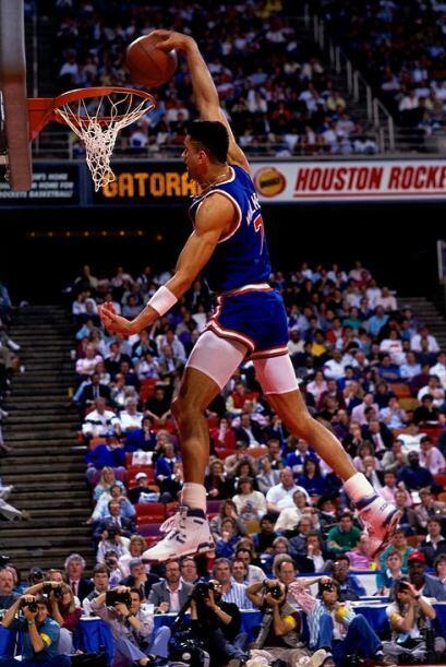 1989 - Kenny Walker, de los Knicks de Nueva York se llevó a casa el trof...