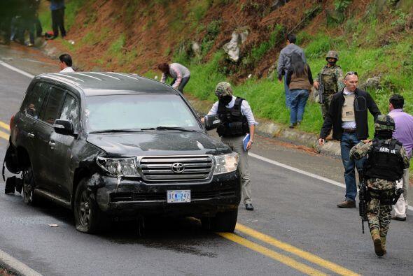 La Fiscalía mexicana confirmó el viernes que catorce polic...