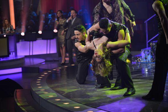 El cierre de su actuación fue perfecto y la ovación no se hizo esperar.