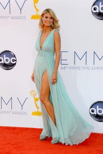 Heidi Klum siempre ha sido una explosión de sensualidad, pero en esa oca...
