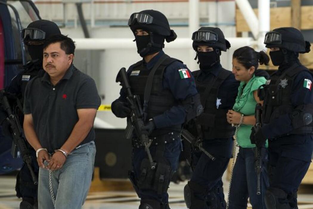 A los detenidos se les vincula con el cártel de las drogas 'Los Zetas'.