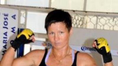 Por la velocidad, potencia y precisión que lució la rusa Anastasia Tokta...