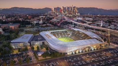 Renders actualizados del estadio de LAFC