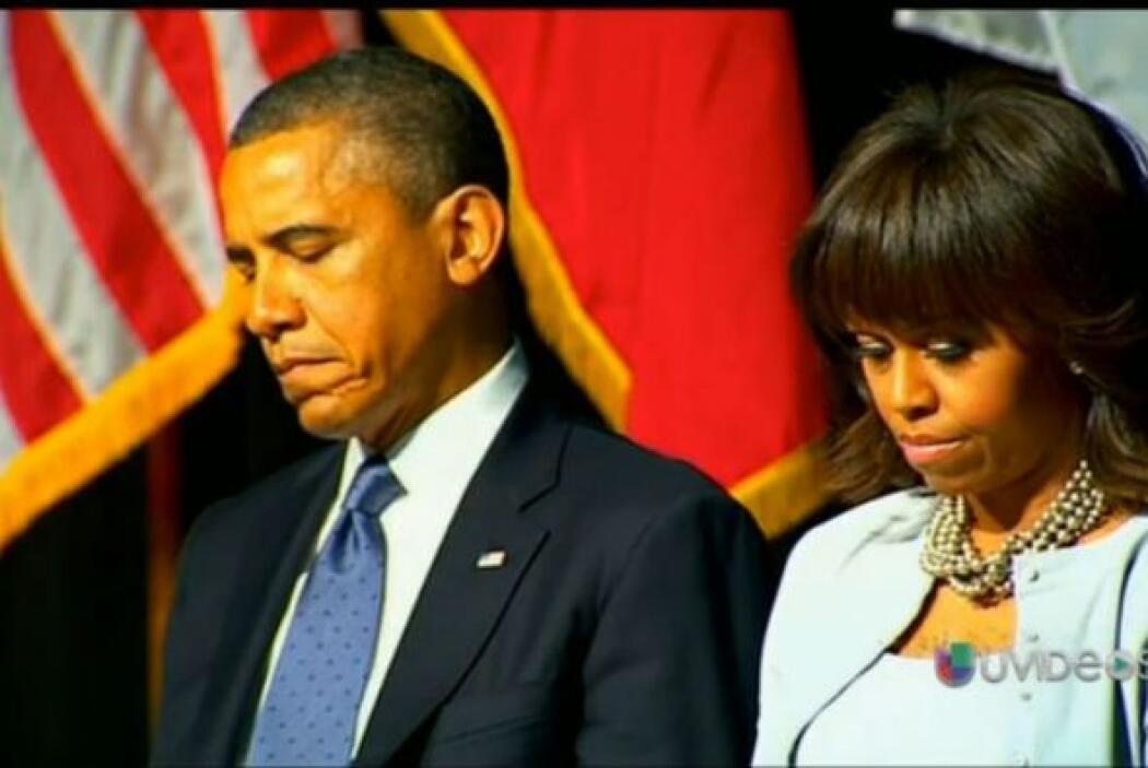 Barack Obama estuvo presente en el memorial de las víctimas de las explo...