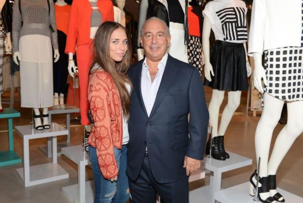 La joven es hija de Sir Phillip Green, uno de los hombres más ricos de G...