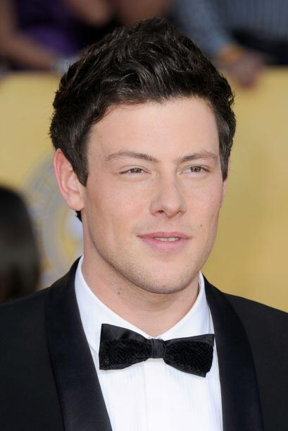 """Cory, querido por todos sus amigos y compañeros de la serie """"Glee"""", fue..."""