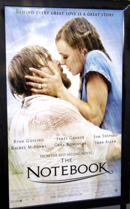 The Notebook es un clásico contemporáneo, donde nos cuenta la historia d...