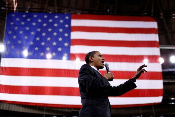 Barack Obama, actual presidente de los Estados Unidos, afianzó su lugar...