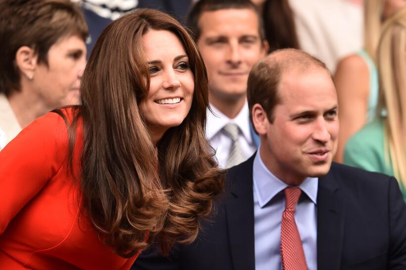 Kate Middleton y Guillermo en Wimbledon 2015