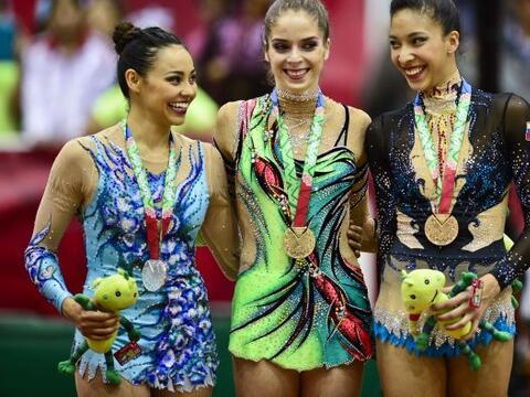La delegación mexicana se adjudicó cuatro medallas de oro...