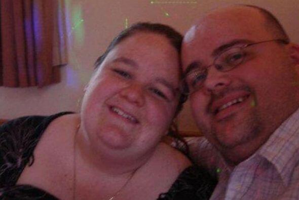 Katie y Roy Marks de Buckinghamshire, Inglaterra vivían de comida rápida...