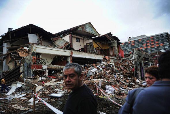 Muy a pesar de los daños materiales, las víctimas son las que duelen más...