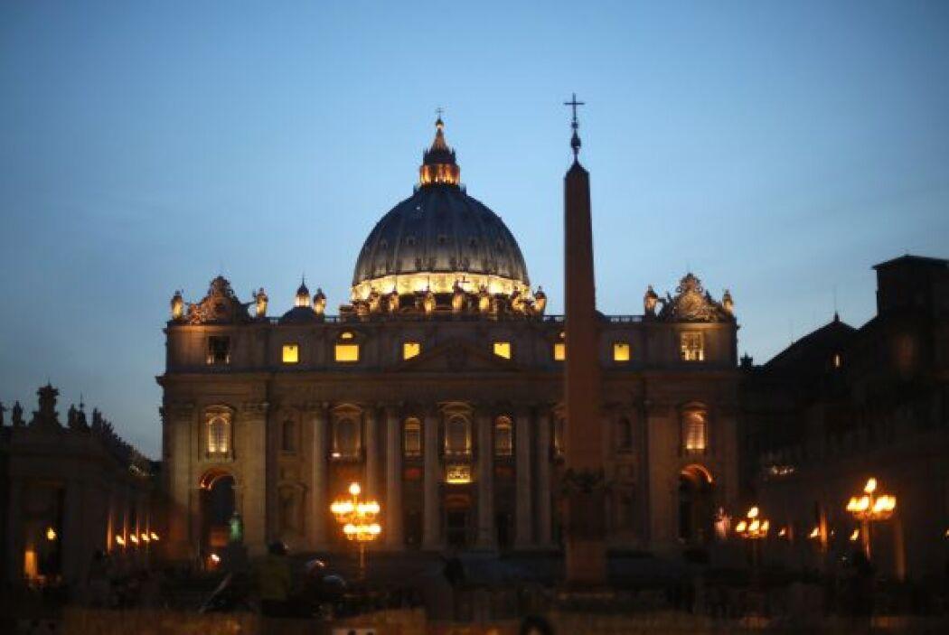 La Basílica de San Pedro fue una de las construcciones que se quedó en p...