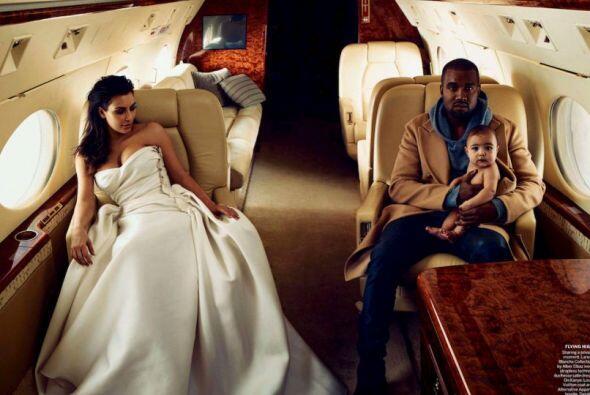 La familia West Kardashian posó con mucho glamour para la revista más im...