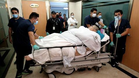 El hombre más obeso del mundo se somete a una riesgosa cirugía en México...