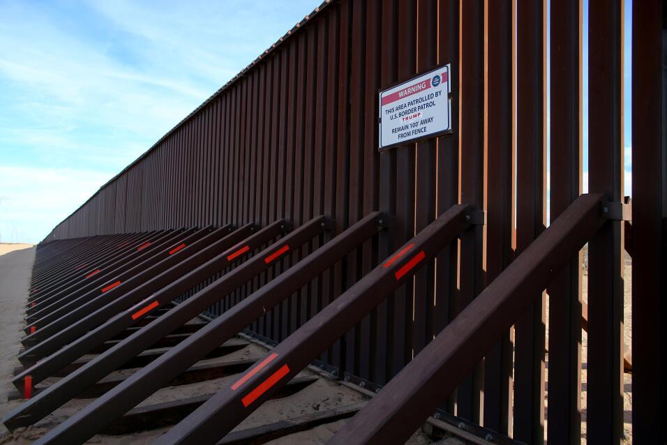 El muro en la era Trump