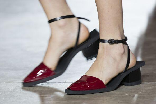 Hasta luce fabuloso en todo tipo de zapatos, ¿no les parece?