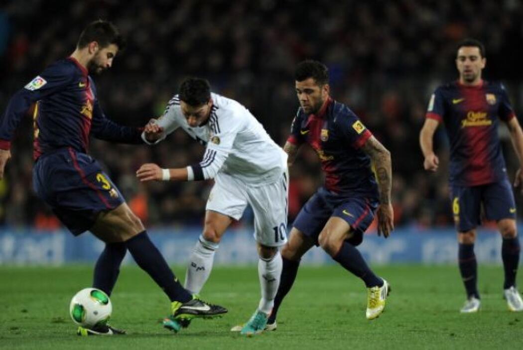 Por minutos el Barcelona se descontroló y Madrid intentó en busca del se...