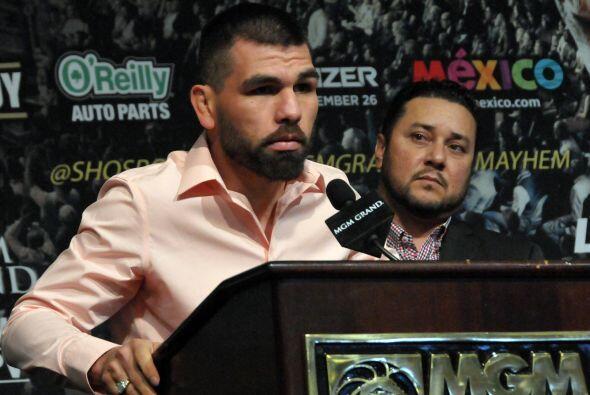"""""""Estoy listo para regresar. Cuando dos mexicano están en el ring siempre..."""