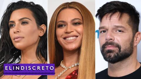 #ElIndiscreto Kim Kardashian; Beyoncé; Ricky Martin