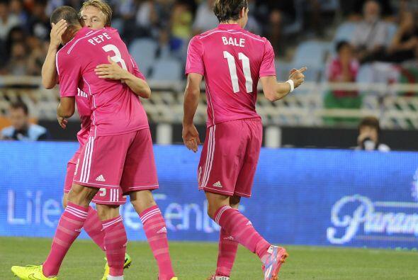 El galés Gareth Bale se lució con una jugada llena de técnica y colocó e...