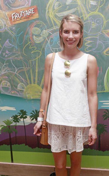 La sobrina de Julia Roberts, Emma Roberts, también optó po...
